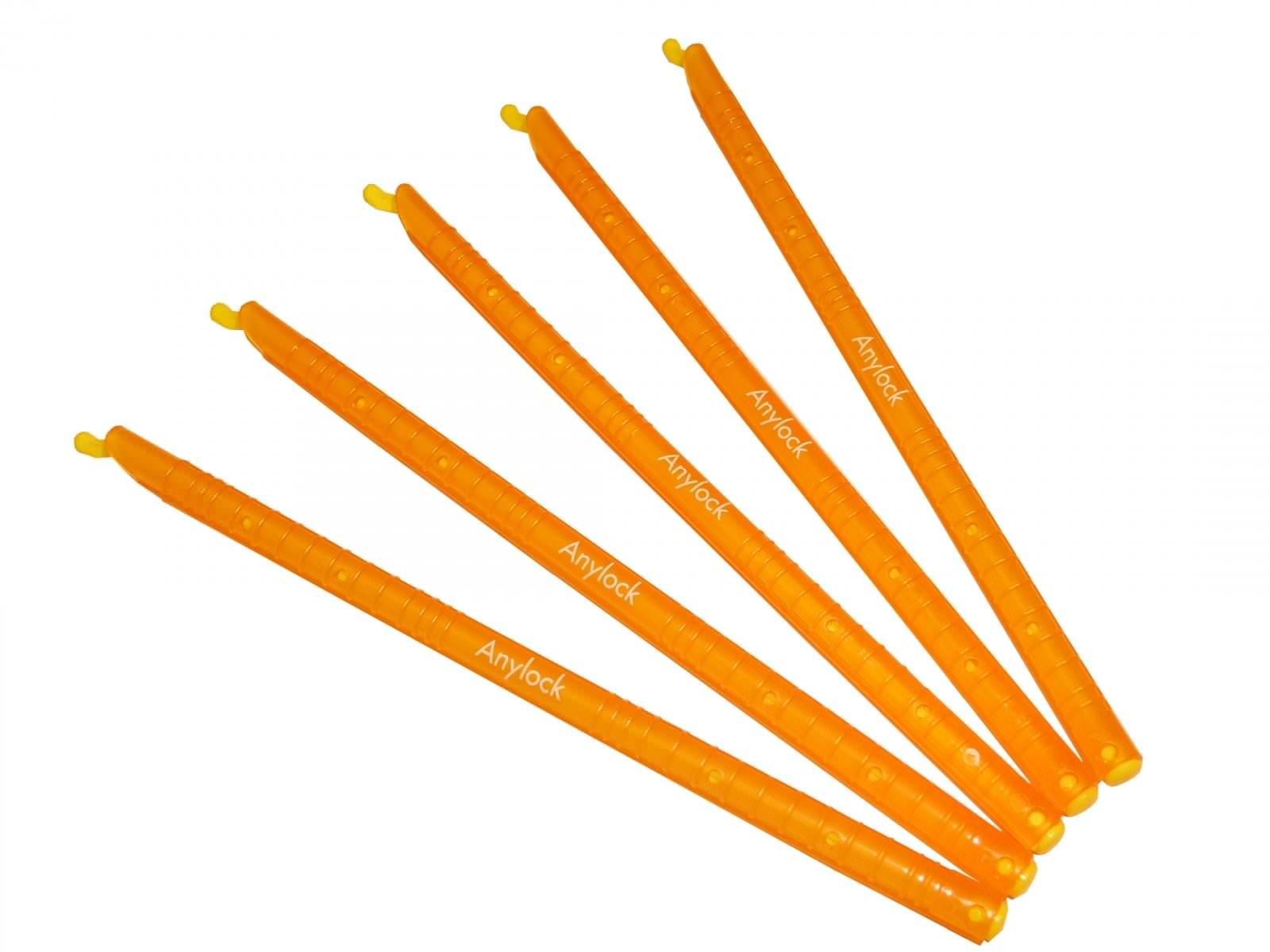 fermeture hermetique de sac et sachets 5 baguettes oranges