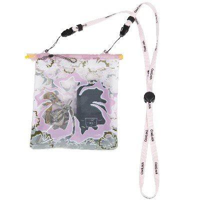 pochette hermétique et étanchecoolock pochette coolock rose a fleurs