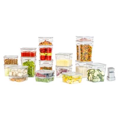 Pack premium : Boites sous vide gastro pro status 4x2lit + 5x4lit + 3x6 lit + 3x8lit + 2x10lit + Aspipro 300 sans fil