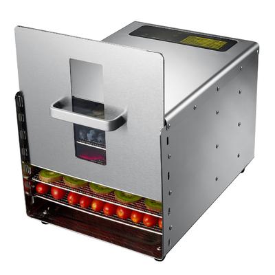 Deshydrateur Inox 6 grilles de 29/29cm à  commande digitale 500W. Port offert.