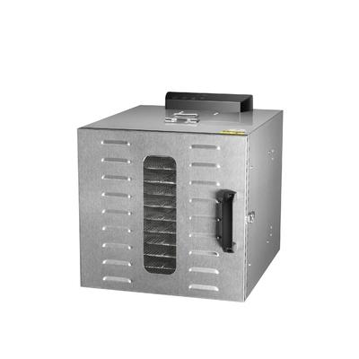 Deshydrateur Inox 10 grilles de 39/28,5 cm à commande digitale 1000W. Port offert ! Garantie jusqu'à 7 ans !