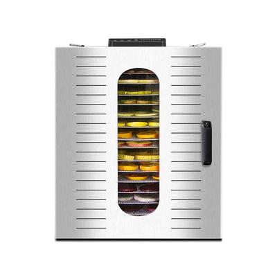 Deshydrateur Inox pro 16 grilles de 40/38 cm à commande digitale 1500W. Port offert ! Extension de garantie jusqu'à 7 ans !