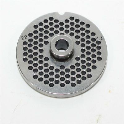 Grille perforée de trous de 4,5 mm pour hachoir type 20-22 reber