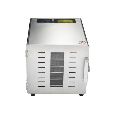 Deshydrateur Inox 6 grilles de 29/29cm à  commande digitale 500W. Port offert. Garantie jusqu'à 7 ans !