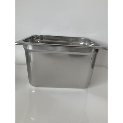 Bac Inox 26,5 par 32,5 cm pour cuisson sous vide hauteur 20 cm (11,6 litres)