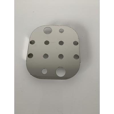 Grille de fond inox pour boite Inox status 1/6 (17,6 / 16,2 cm)