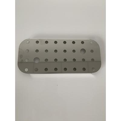 Grille de fond inox pour boite Inox status 1/3 (32,5 /17,6 cm)