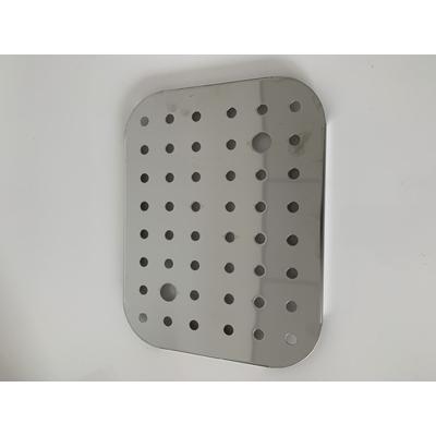 Grille de fond inox pour boite Inox status 1/2 (32,5 / 26,5 cm)