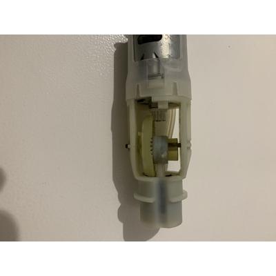 Engrenage & moteur pompe vacsy rouge & grise (ocasion garantie 3 mois)