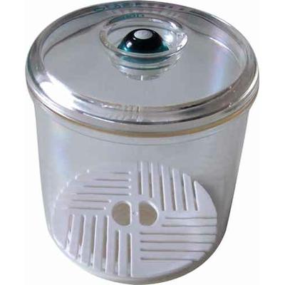 Boîte sous vide Vacco ronde 13 x 10,5 cm (0,64 litre) + 1 baguette Anylock 18 cm offerte