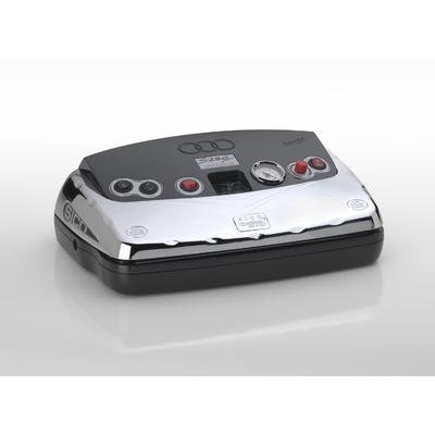 machine sous vide SICO S250 Chrome, 400W, double barre de soudure 25cm, vide -900 mb , aspiration 20L/min, fermeture magnétique. Garantie unique 10 ans (voir conditions) pour 10€ !!