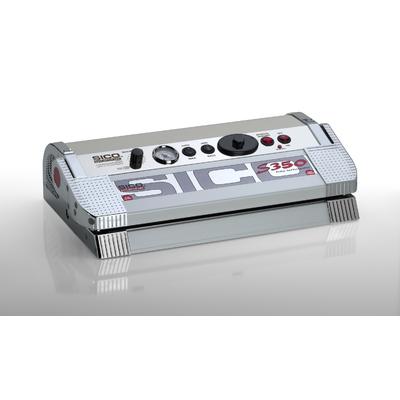 SICO S-LINE 350C Corps Inox et  Aluminium. 700 Watt.  TRIPLE barre de soudure 35 cm, Pompe 25 litres / min , vide - 925mw