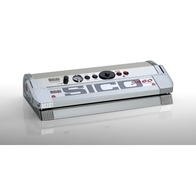 SICO S-LINE 460C Corps Inox et  Aluminium. 800 Watt.  TRIPLE barre de soudure 46 cm, DEUX Pompes 25 litres / min , vide - 925mb. Garantie unique 10 ans (voir conditions) pour 10€ !!