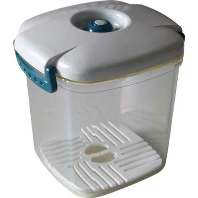 Boîte sous vide Vacco carrée 13 x 13 x h14 (1 litre) + 1 baguette Anylock 22 cm offerte