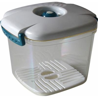 Boîte sous vide Vacco carrée 13 x 13 x h11 (0,650 litre) + 1 baguette Anylock 18 cm offerte