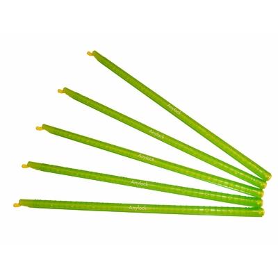 Anylock : lot de 5 baguettes vertes  28,5 cm.  Livraison offerte à partir de 70€ d'achats (seulement 4,90€ entre 18 et 70€, 0€ au delà de 70€)