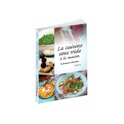 Livre de cuisine sous vide à basse température, recettes d'inspiration italiennes