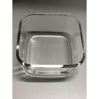 Récipient en verre pour boite Vacsy 22 x 22cm