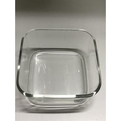 Récipient en verre Boite Vacsy  carrée 19 par 19 cm