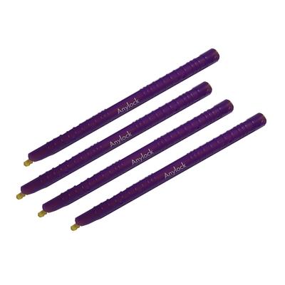 4 baguettes Anylock 18.5 cm pour sachets épais (diamètres plus large de la baguette). Couleur marron ou violet selon stock