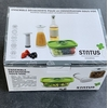 kit status découverte boite verre + pompe + couv uni + bouchon 3