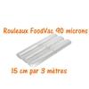 rouleaux foodvac 15 cm par 3 mètres