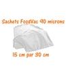 sachets foodvac 15cm-30cm