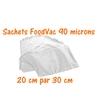 sachets foodvac 20cm-30cm