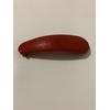 Bouton poussoir pompe vacsy grise & rouge