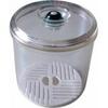 Boite sous vide manuel VACCO VA-1678 PC rond 640 ml