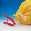 Pince weloc gripper sur sac plastique jaune