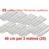 25 rouleaux status 40 cm