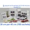 3 paquet sico 30cm-40cm
