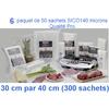 6 paquet sico 30cm-40cm