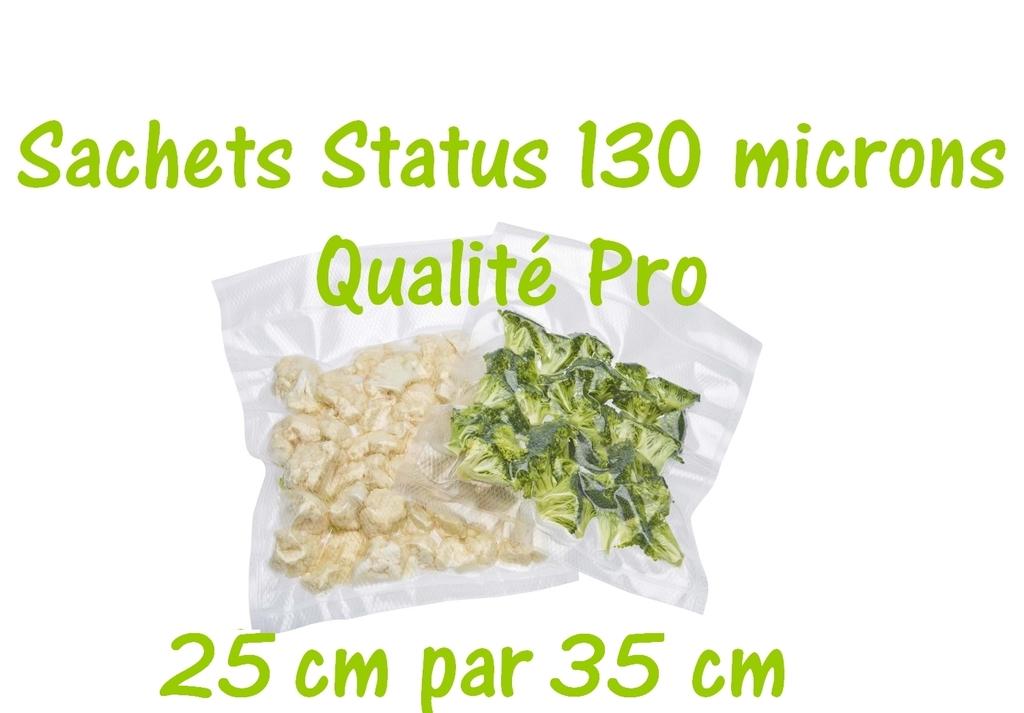 sachets status 25 cm par 35 cm