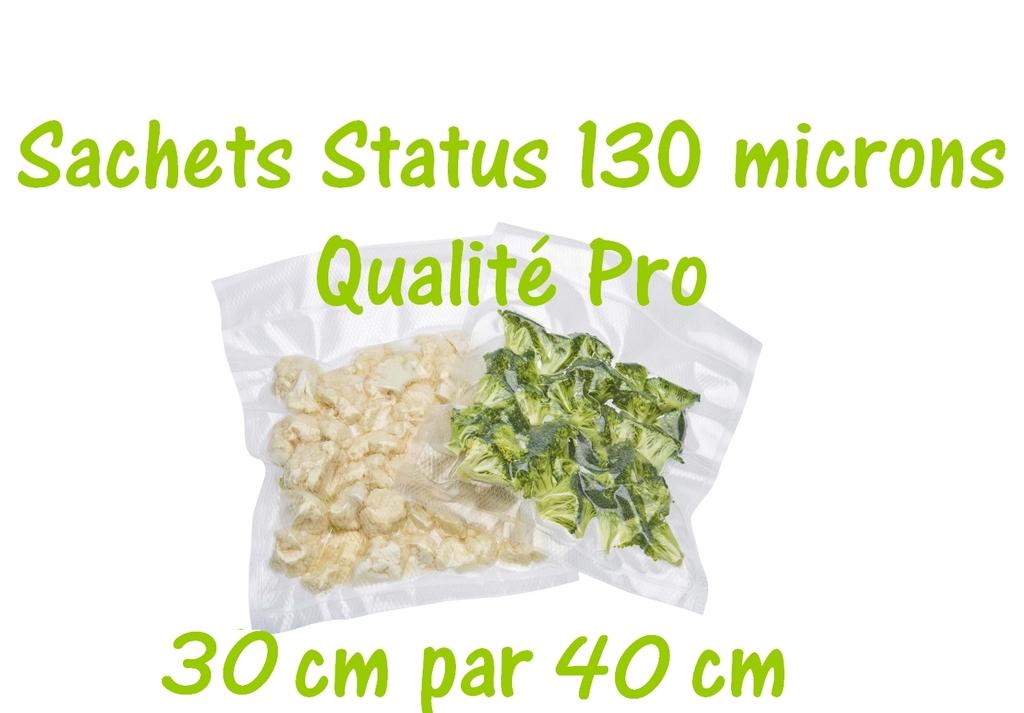sachets status 30 cm par 40 cm