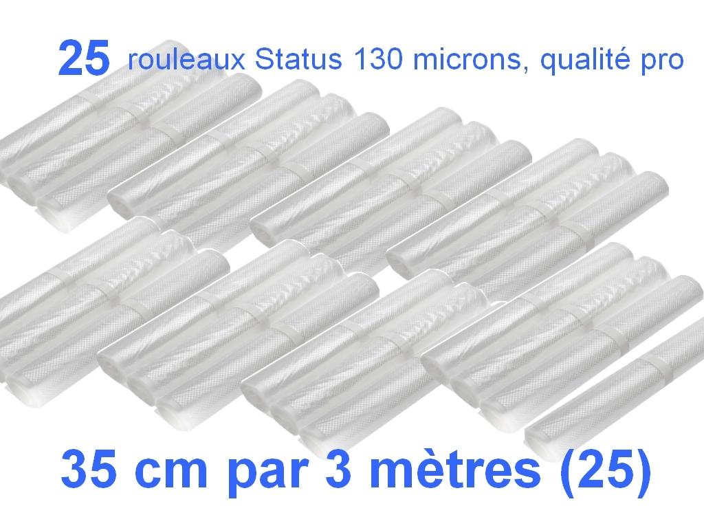 25 rouleaux status 35 cm