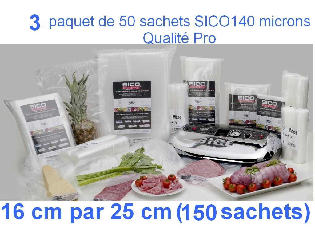 3 paquet sico 16cm-25cm