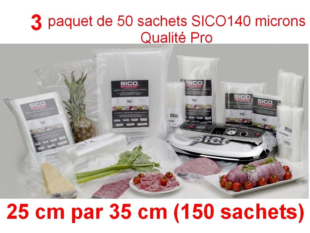 3 paquet sico 25cm-35cm