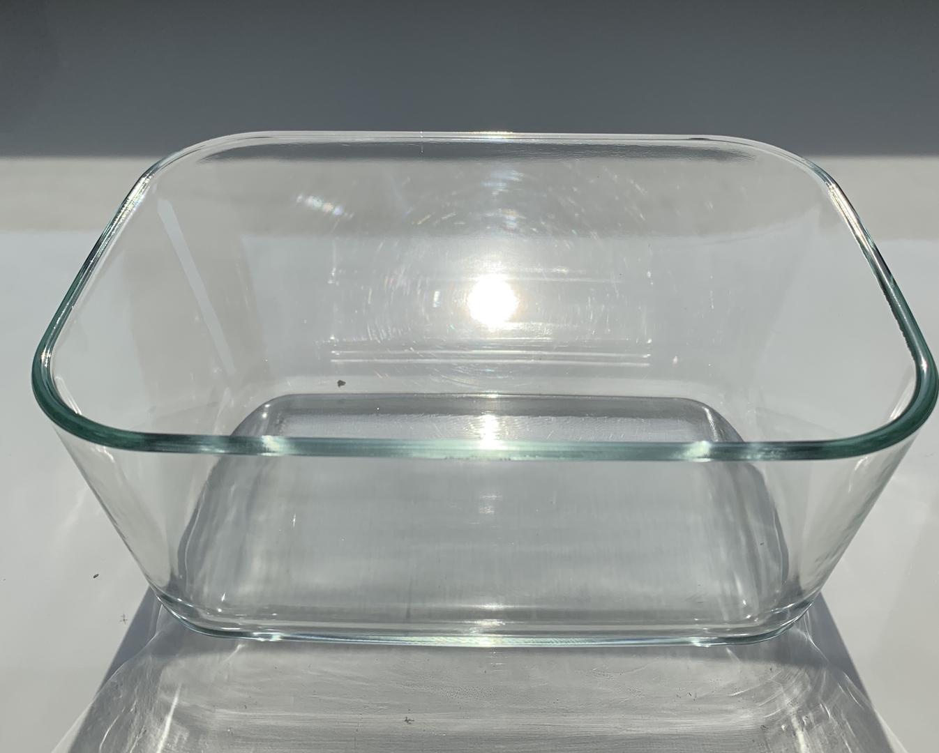 bac en verre status 1,5 litres
