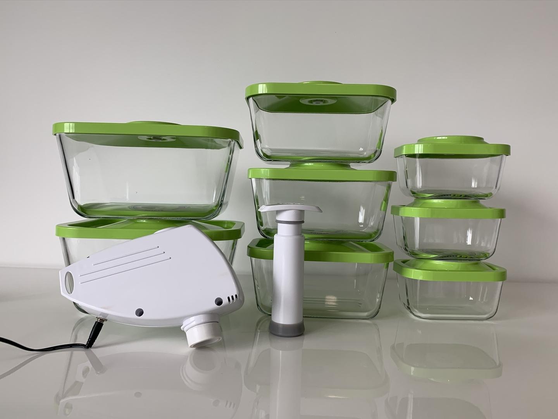 kit premium boites sous vide verre