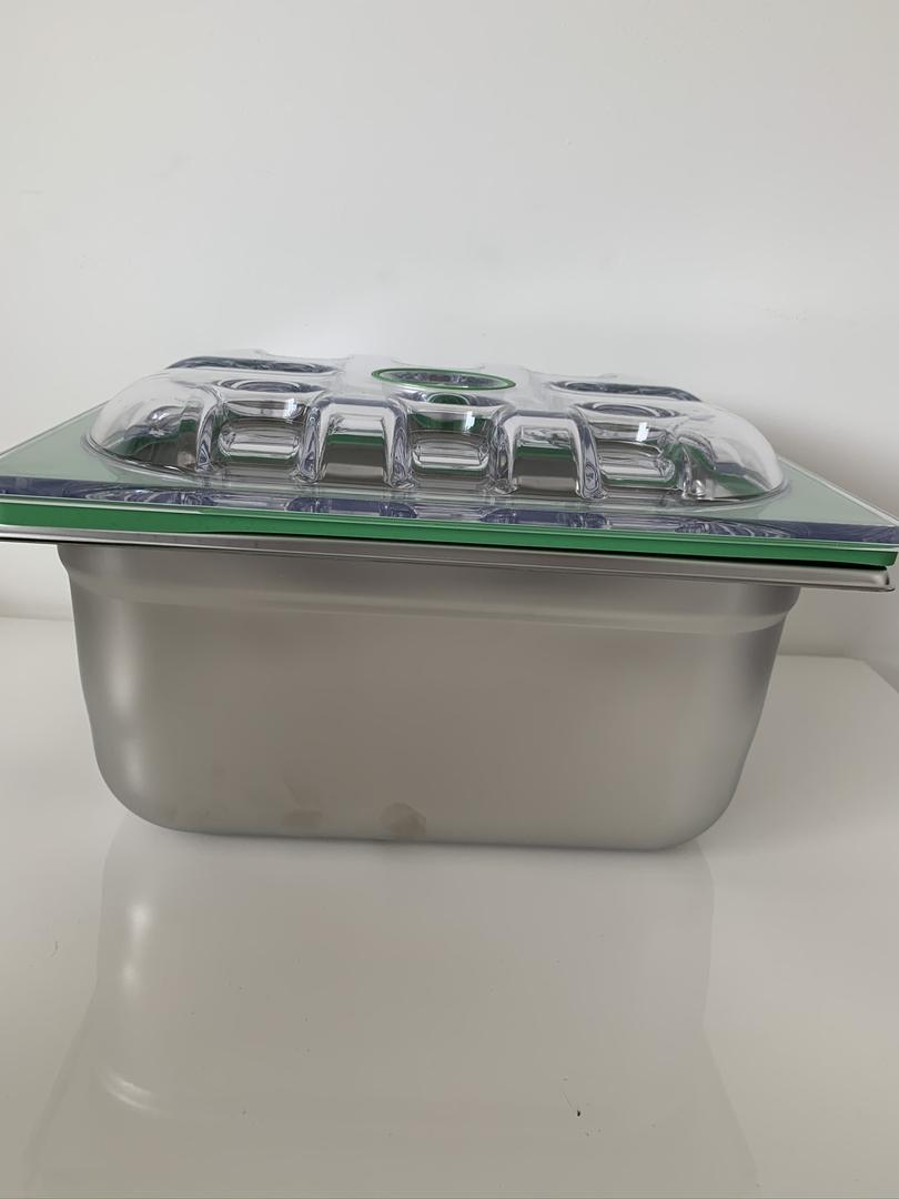 boite gastro  inox 1-2 H150