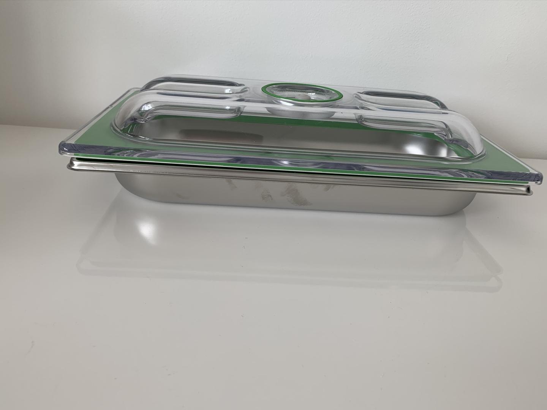 boite gastro inox 1-3 H40