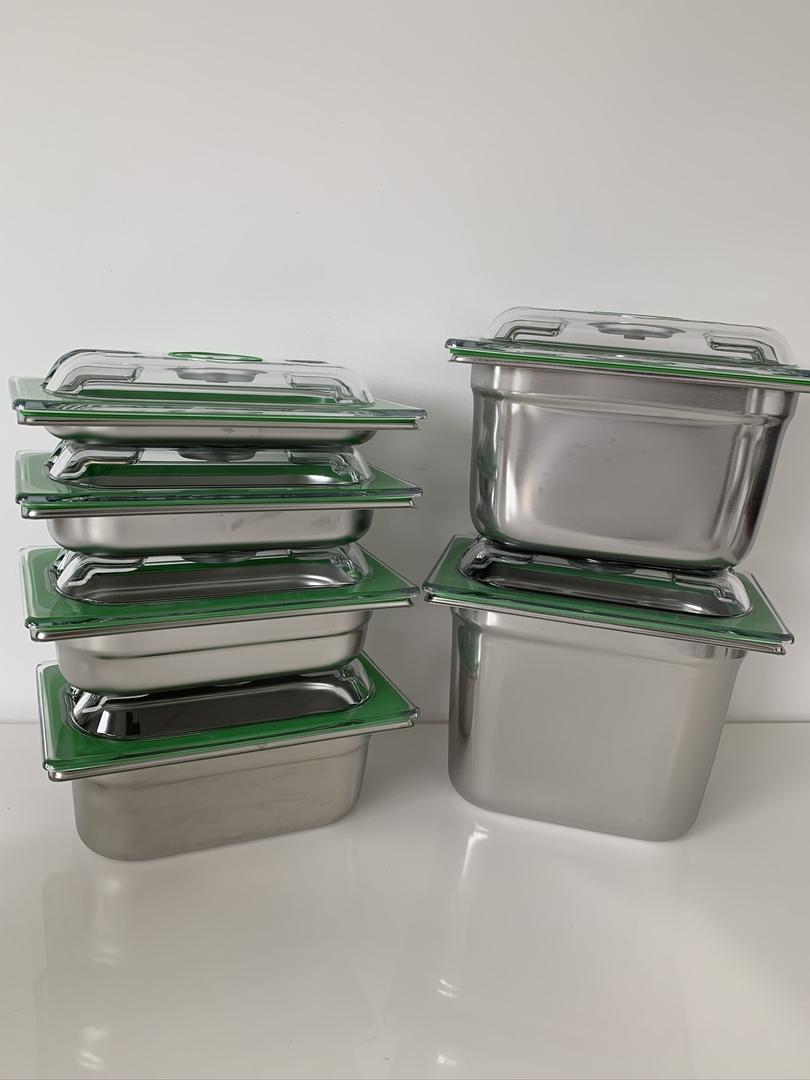 boite gastro inox 1-4 ensemble