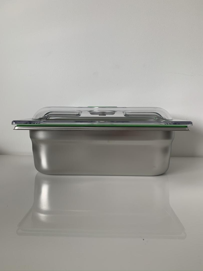 boite inox gastro 1-3 H100
