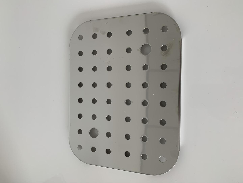 grille de fonds boite inox 1-2