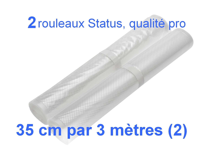 2 rouleaux sous vide 35 cm
