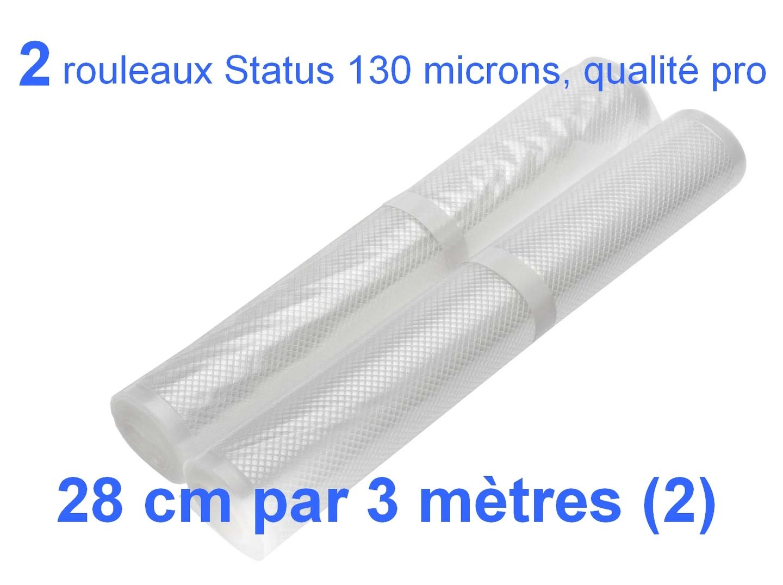 2 rouleaux sous vide 28 cm