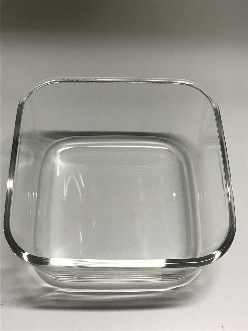bac en verre boite vacsy carr e 19 par 19 cm boites sous. Black Bedroom Furniture Sets. Home Design Ideas