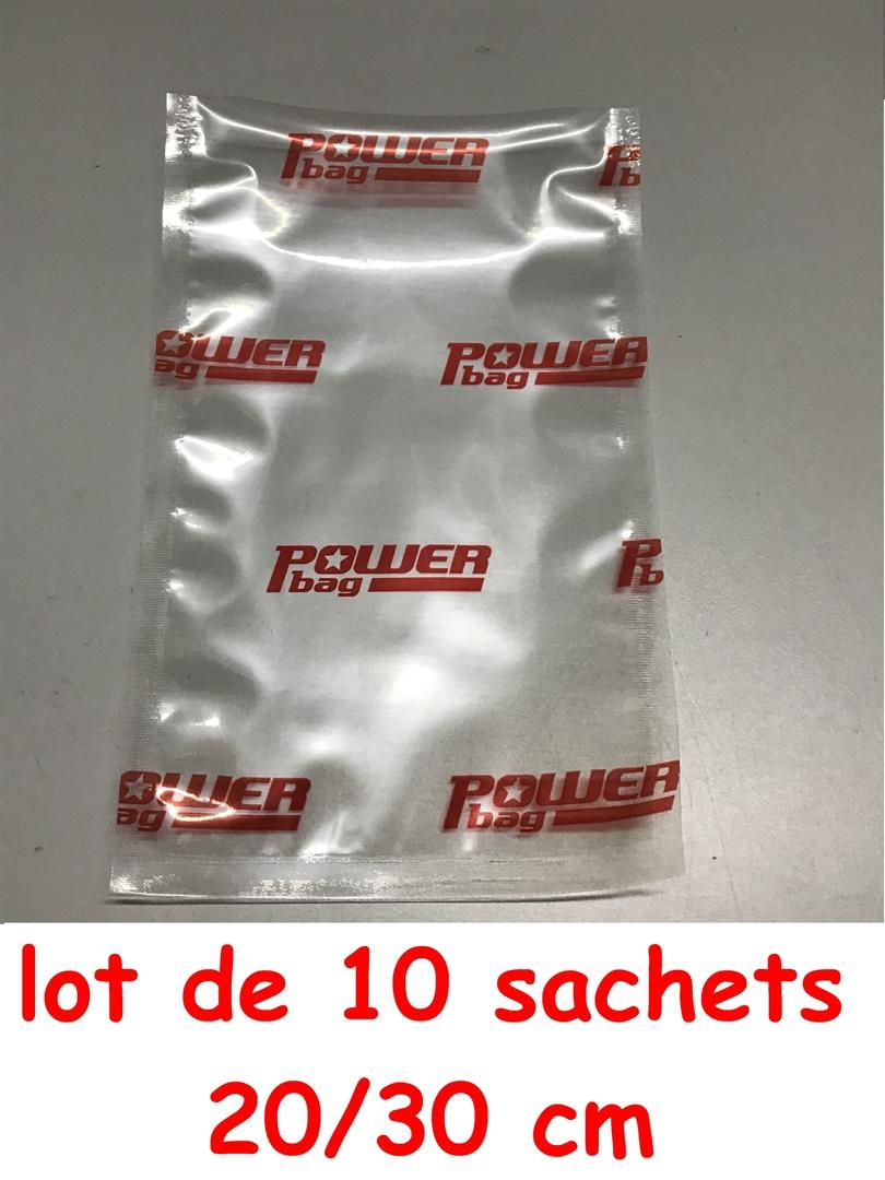 10 sac powerseal 20-30cm